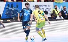 El Jaén FS se lleva una goleada a en su visita al Movistar Inter