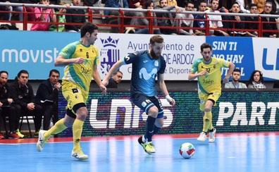 Jaén FS se ahoga en casa del campeón