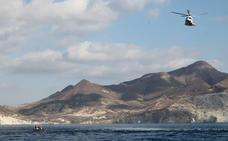 Un rescate en alta mar tan real como un simulacro