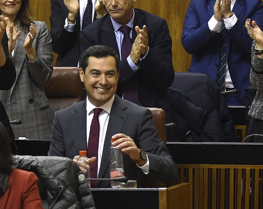Los once consejeros del Gobierno de la Junta de Andalucía