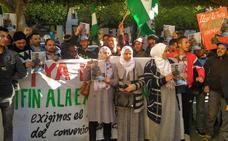 Protesta por la muerte de un trabajador de un invernadero por un posible envenenamiento