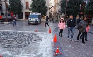 Alerta amarilla de la AEMET por heladas esta semana en Granada