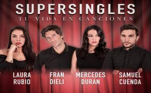 Consigue tus entradas con descuento para el concierto Supersingles con Fran Dieli en Granada