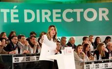 Susana Díaz pide «unidad y responsabilidad» al PSOE para frenar a la derecha