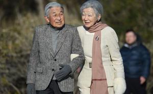 Visita de los emperadores de Japón a la Villa de Hayama