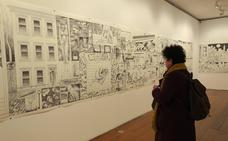 La muestra 'Viñetas desbordadas' mete de lleno al Guerrero en la era del cómic