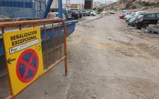 Las máquinas entran ya en la calle Pósito, en unas obras que se retoman tras un parón