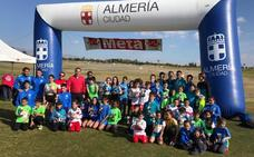 El XIX Cross Ciudad de Almería reúne a unos 200 jóvenes amantes del atletismo