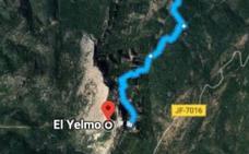 La 'carretera maldita' al Yelmo sigue en los mapas de Google