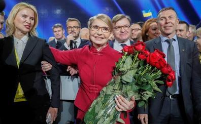 Timoshenko inicia su carrera a la presidencia de Ucrania