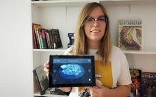 Una estudiante de Teleco diseña una app para ver en 3D los platos antes de pedir en un restaurante