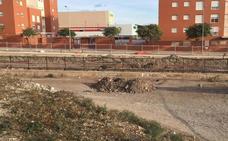 Explotan una bomba de la Guerra en la obra del tren en El Puche