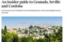 El prestigioso diario 'The Times' se enamora de Granada: «Una ciudad cautivadora»