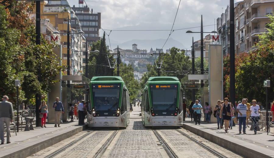 Los conductores del metro de Granada avisan que harán paros si no se atienden sus peticiones para el convenio colectivo