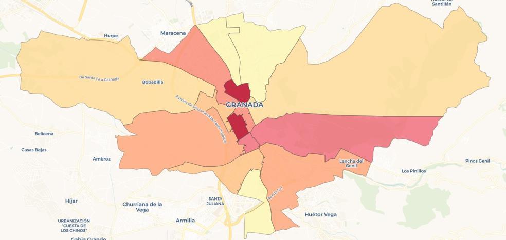 Granada es una de las diez grandes ciudades más ricas de España