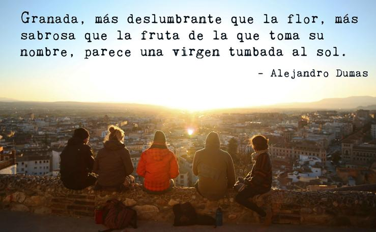 Las 10 mejores frases de famosos hablando de la belleza de Granada