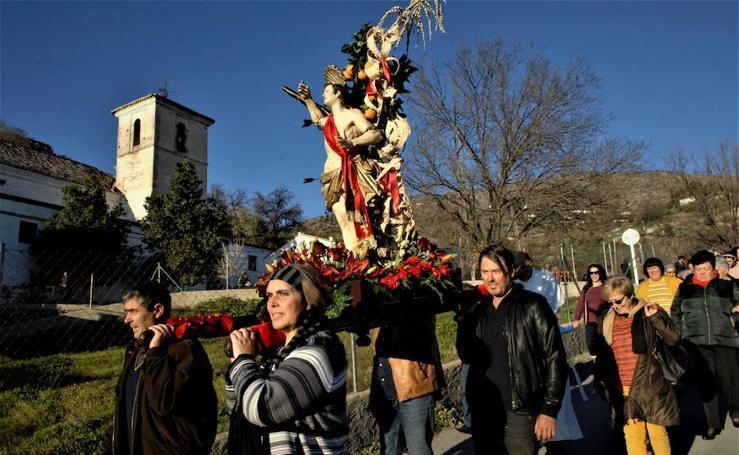 Bayacas celebra sus fiestas patronales en honor a San Sebastián