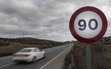 Estas son las carreteras de Granada en las que se reduce la velocidad a 90 km/h