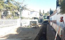 Varias calles de Cájar mejorarán su sistema de saneamiento