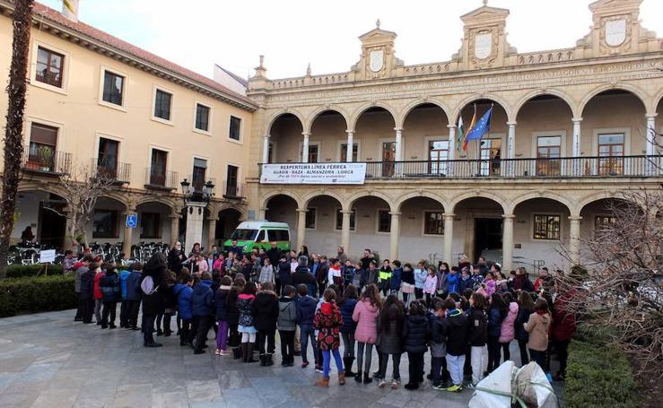 Guadix celebra el 'Día de la Paz'