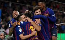 A este Barça le va la marcha