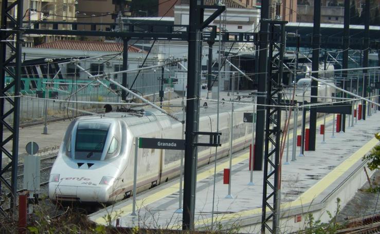 El AVE se acostumbra a venir a Granada: sus últimos viajes