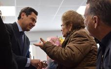 Juanma Moreno escoge Lanjarón para su primera inauguración como presidente