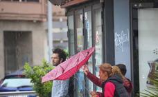 La borrasca 'Helena' provoca 45 incidencias en sus primeras horas en la provincia de Granada