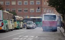 La parada de los autobuses interurbanos se trasladará de Marín Ocete a Andaluces