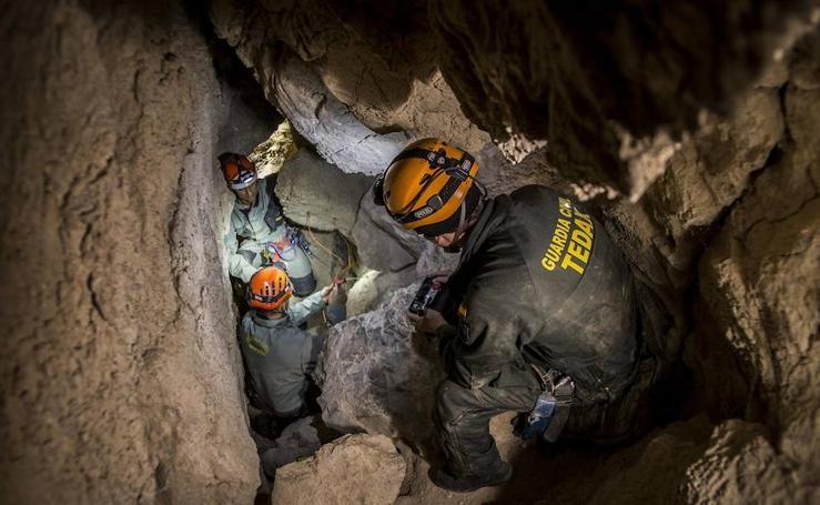 Dos guardias civiles granadinos narran las dificultades del rescate de Julen