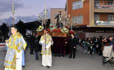 Procesión como broche a la fiesta de San Juan Bosco