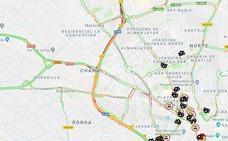 La Circunvalación de Granada recupera la normalidad tras una colisión entre tres turismos