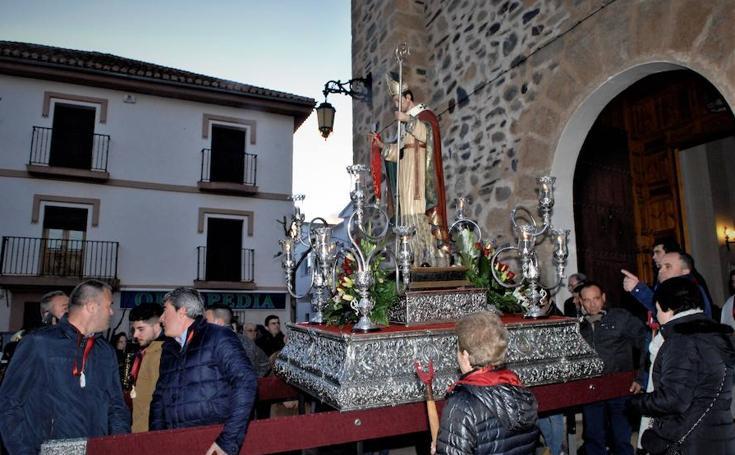 Cádiar celebra desde hace 256 años sus fiestas patronales en honor a San Blas bendito