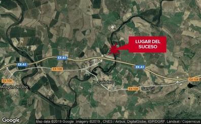 Unos ciclistas hallan el cadáver de una mujer de 64 años en Cáceres