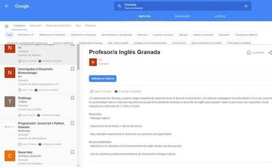 Cómo encontrar ofertas de trabajo cerca de tu ciudad en Google, según tus gustos