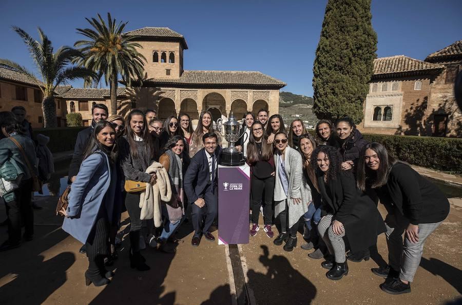 El sorteo de la Copa de la Reina, en la Alhambra