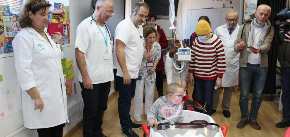 El cáncer infantil motivó 400 ingresos en Torrecárdenas durante el año pasado