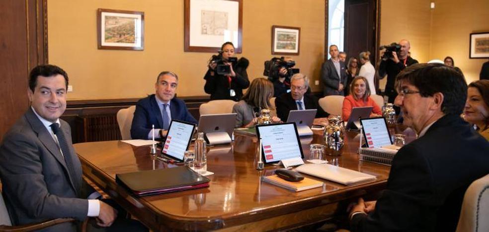 Dolores Ortiz y José Antonio Funes, en la estructura del Gobierno andaluz