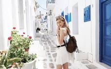 Azul Místico, la 'instagramer' que se gana la vida viajando: «He visitado 56 países, y me quedo con Granada sin dudar»
