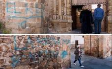 Detenido en Villargordo por pintadas vandálicas en Plasencia