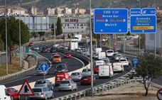 El tráfico continúa muy denso en la Circunvalación en ambos sentidos