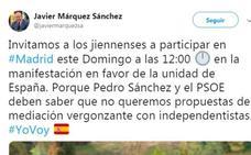 PP, Cs y Vox fletan autobuses desde Jaén para acudir a la marcha contra Pedro Sánchez