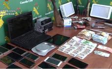 Registran domicilios en El Ejido y Adra en el marco de una operación contra la falsificación de billetes
