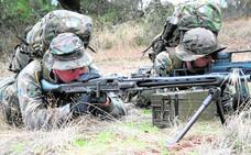 La Legión y Zapadores de Ceuta hacen un ejercicio en Almería