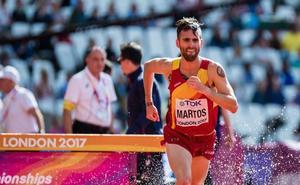 Sebas Martos se lesionó en la San Antón y no estará en el Nacional indoor