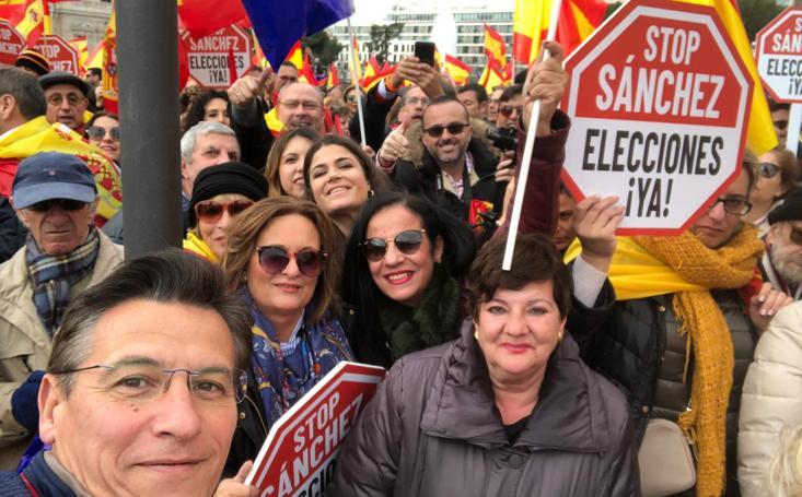 Ciudadanos Granada se da cita en Madrid en la manifestación contra Sánchez