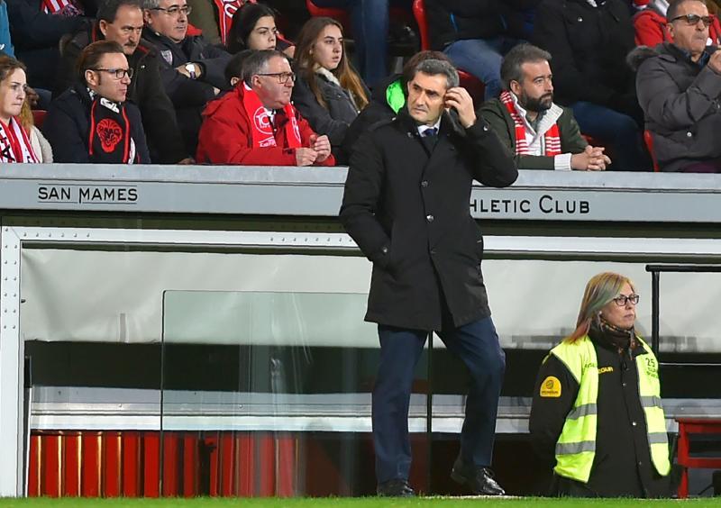 Valverde: «Ha sido un partido un poco espeso por nuestra parte»
