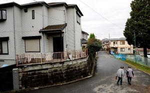 Tsunami de casas muertas en Japón