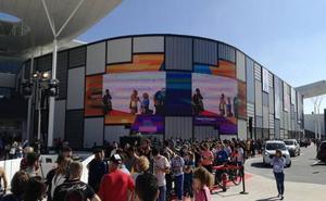 La fachada del nuevo centro comercial de Almería logra un premio internacional