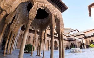 'La Alhambra interpretada' pone al monumento bajo la mirada de casi 40 mujeres artistas